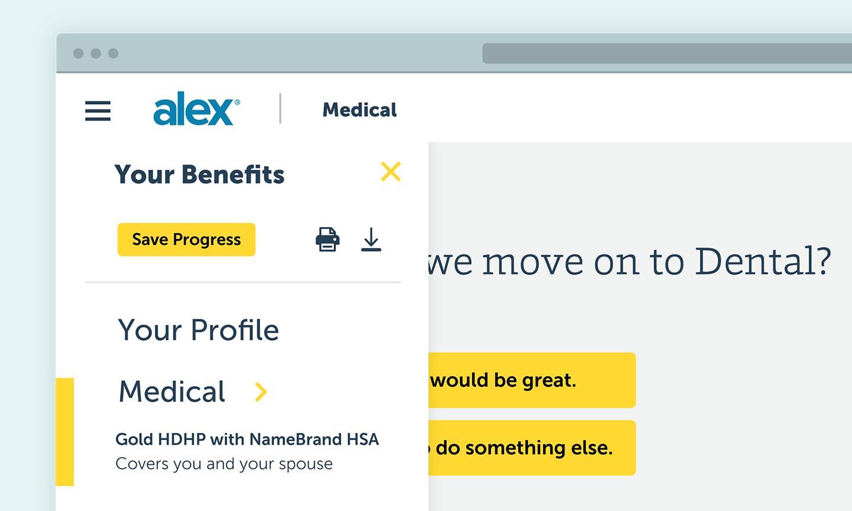 ALEX Rebrand